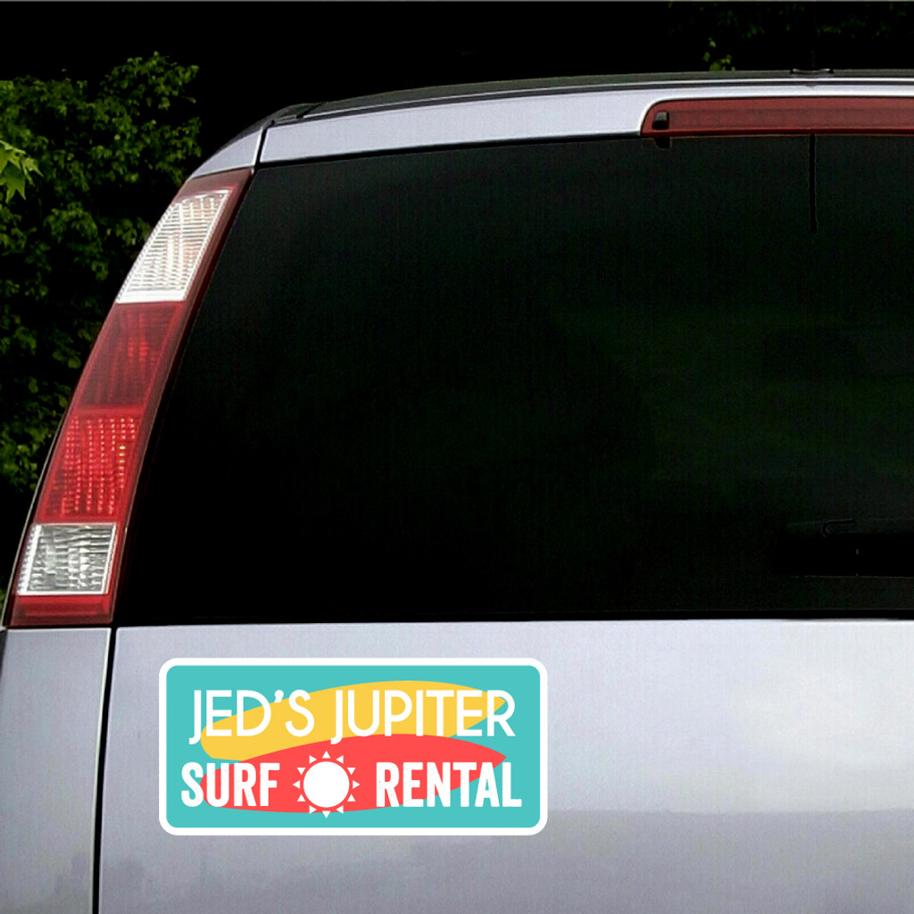 Custom Printed Vehicle Business Logo Decals and Stickers