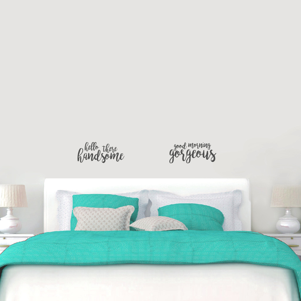 Handsome Gorgeous Wall Decals Small Sample Image