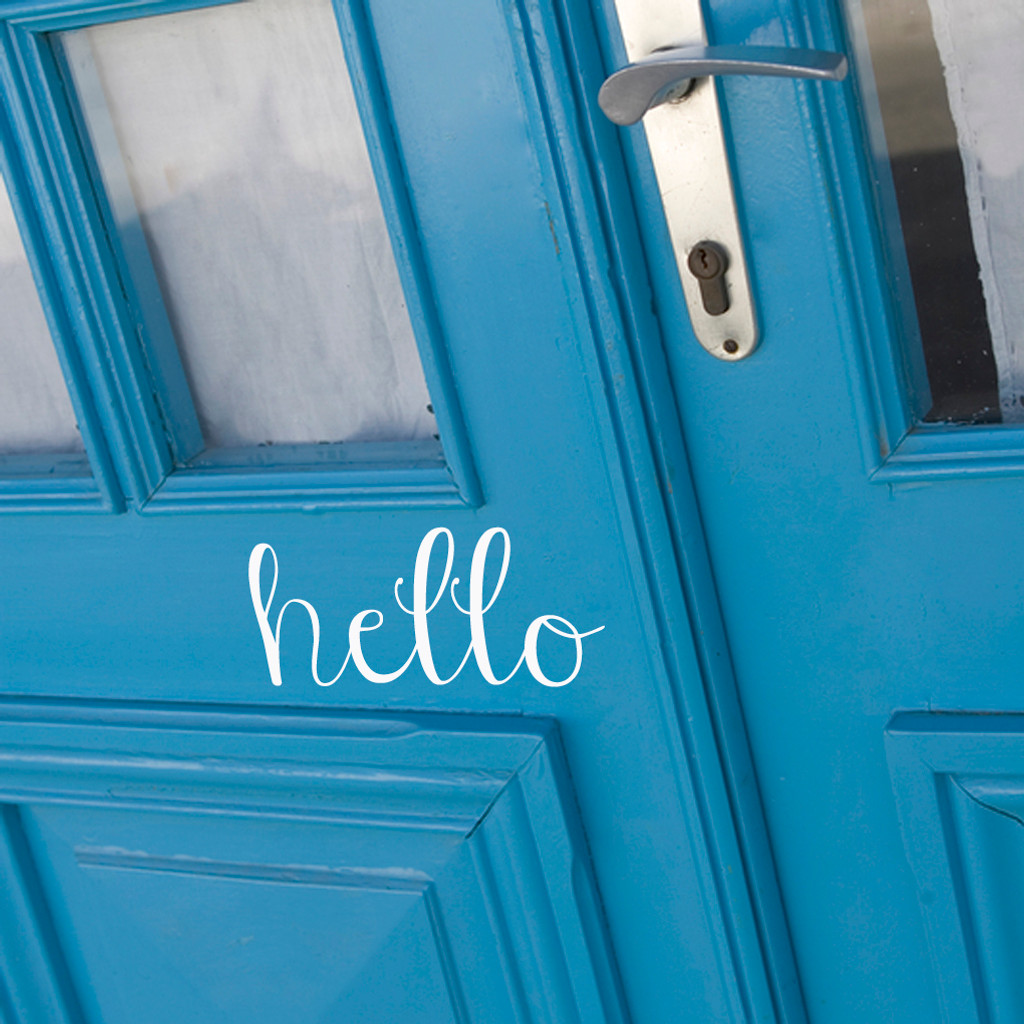 Hello Wall Decals and Stickers