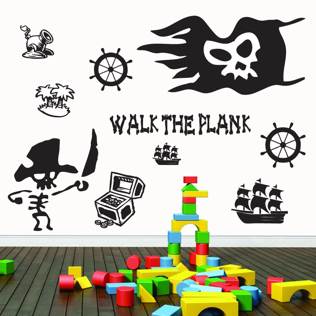 Pirate Pack Wall Decals Home Dcor Wall Decals