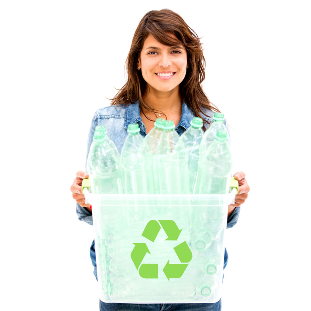 Recycle Symbol Decals and Stickers