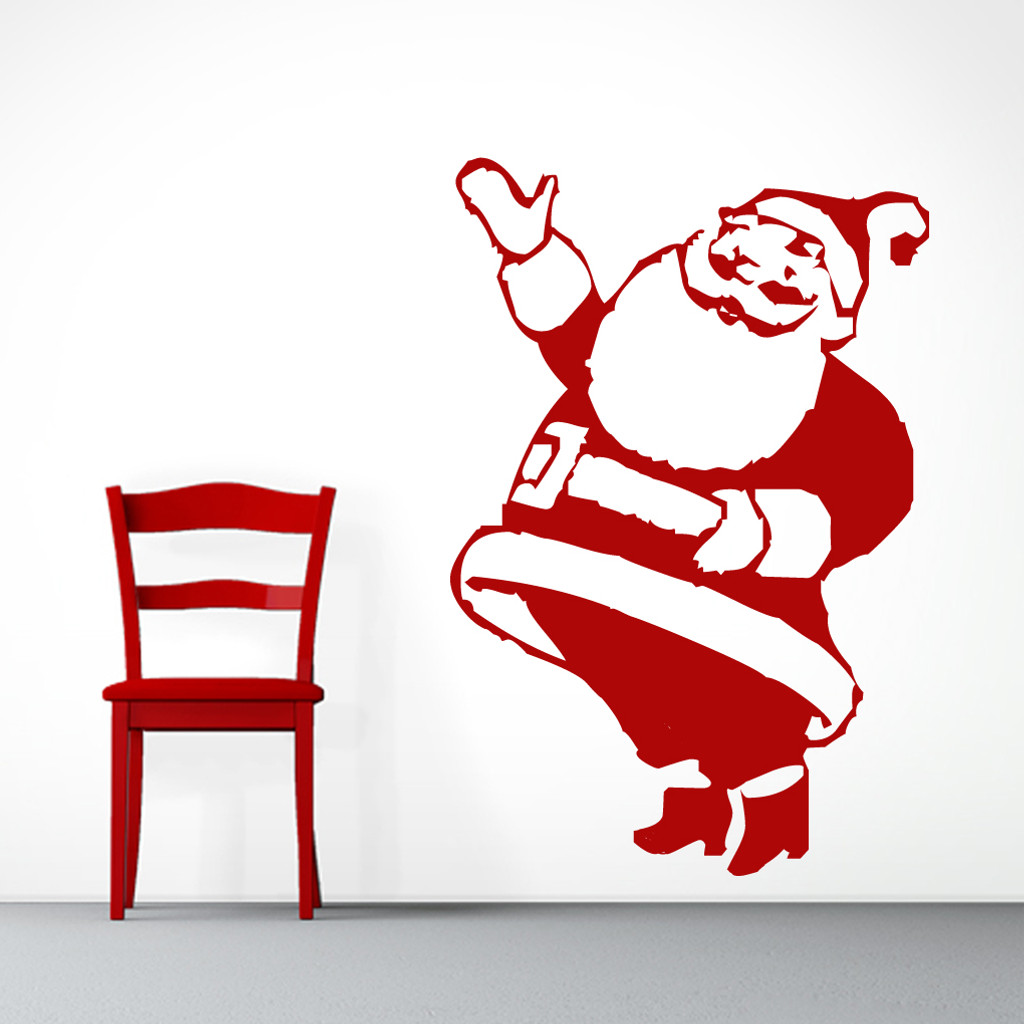 Santa Claus Wall Decals and Wall Stickers