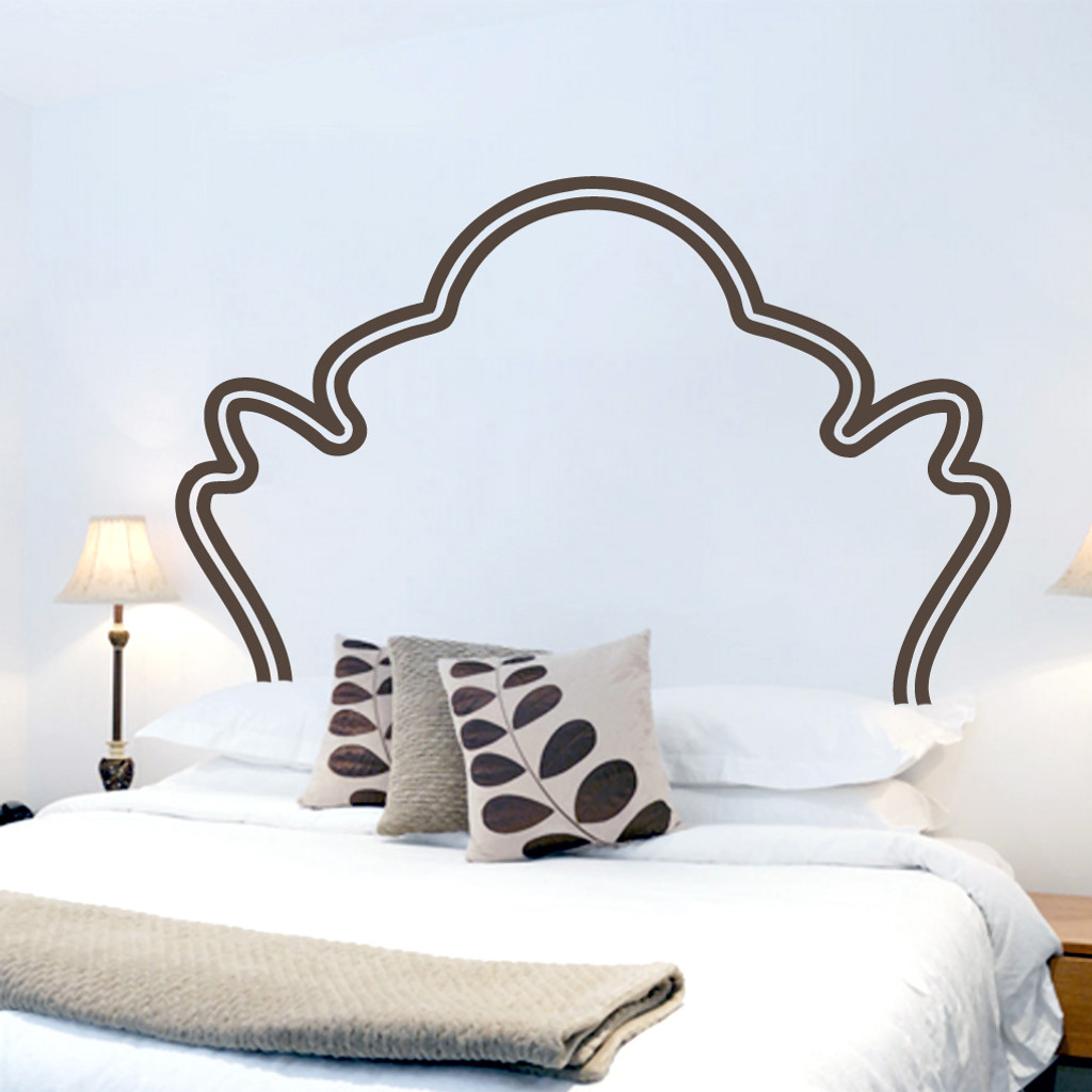 Attractive Vintage Headboard Wall Decals And Wall Stickers