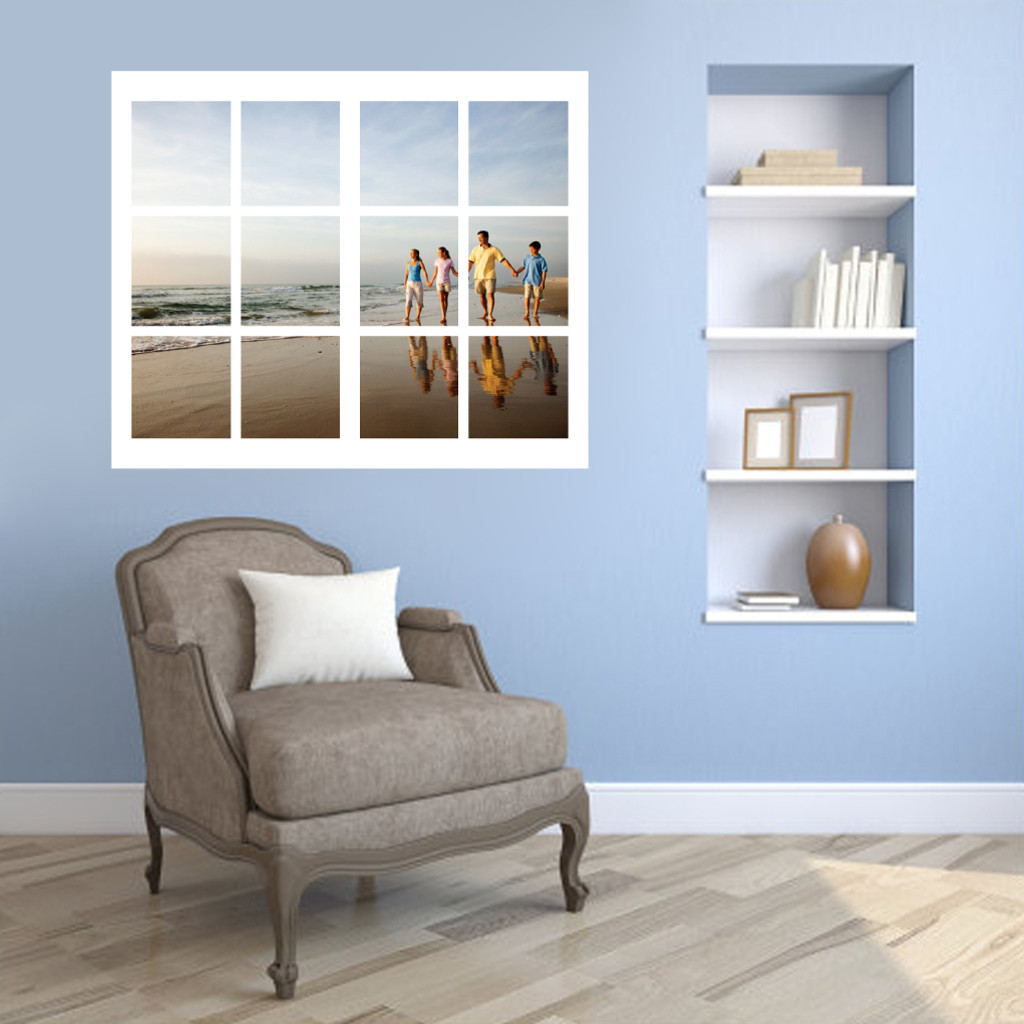 Custom Photo Window Wall Decals