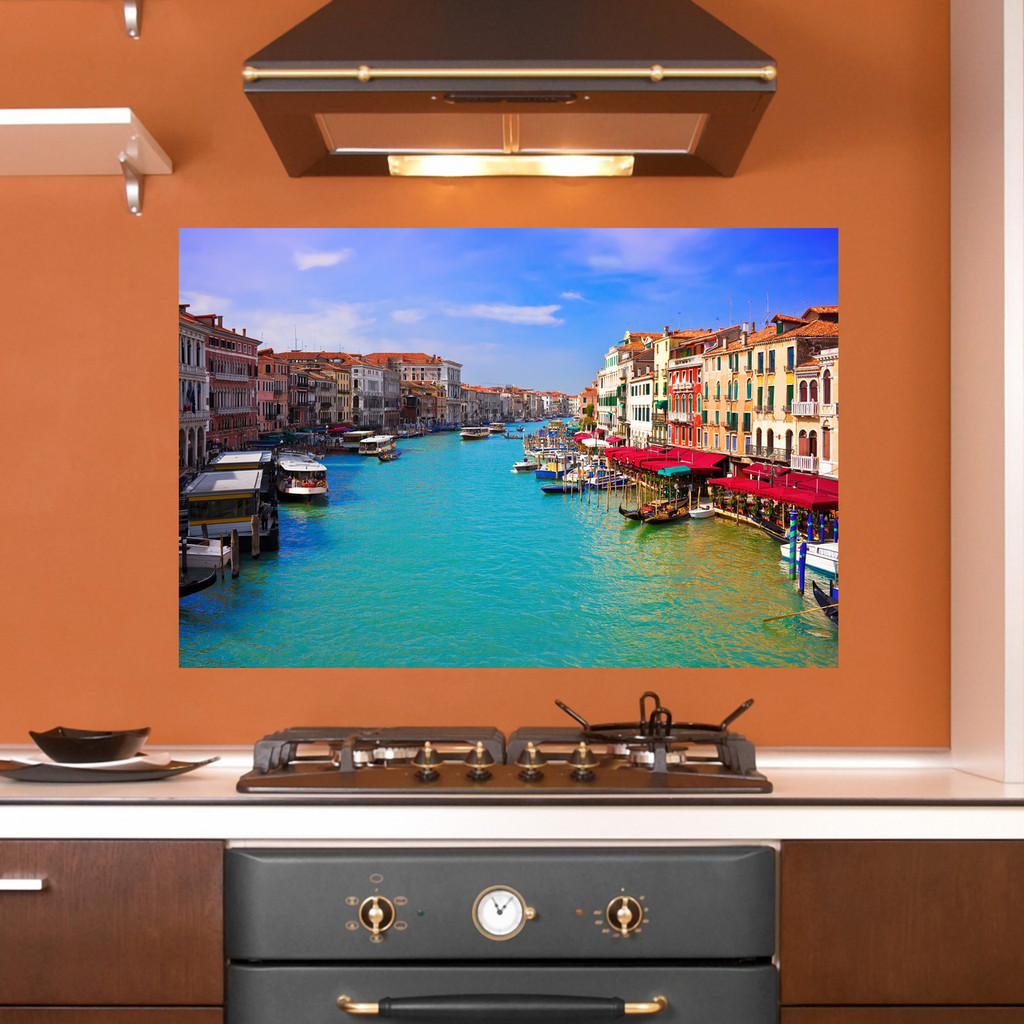 Italian Canal Scene