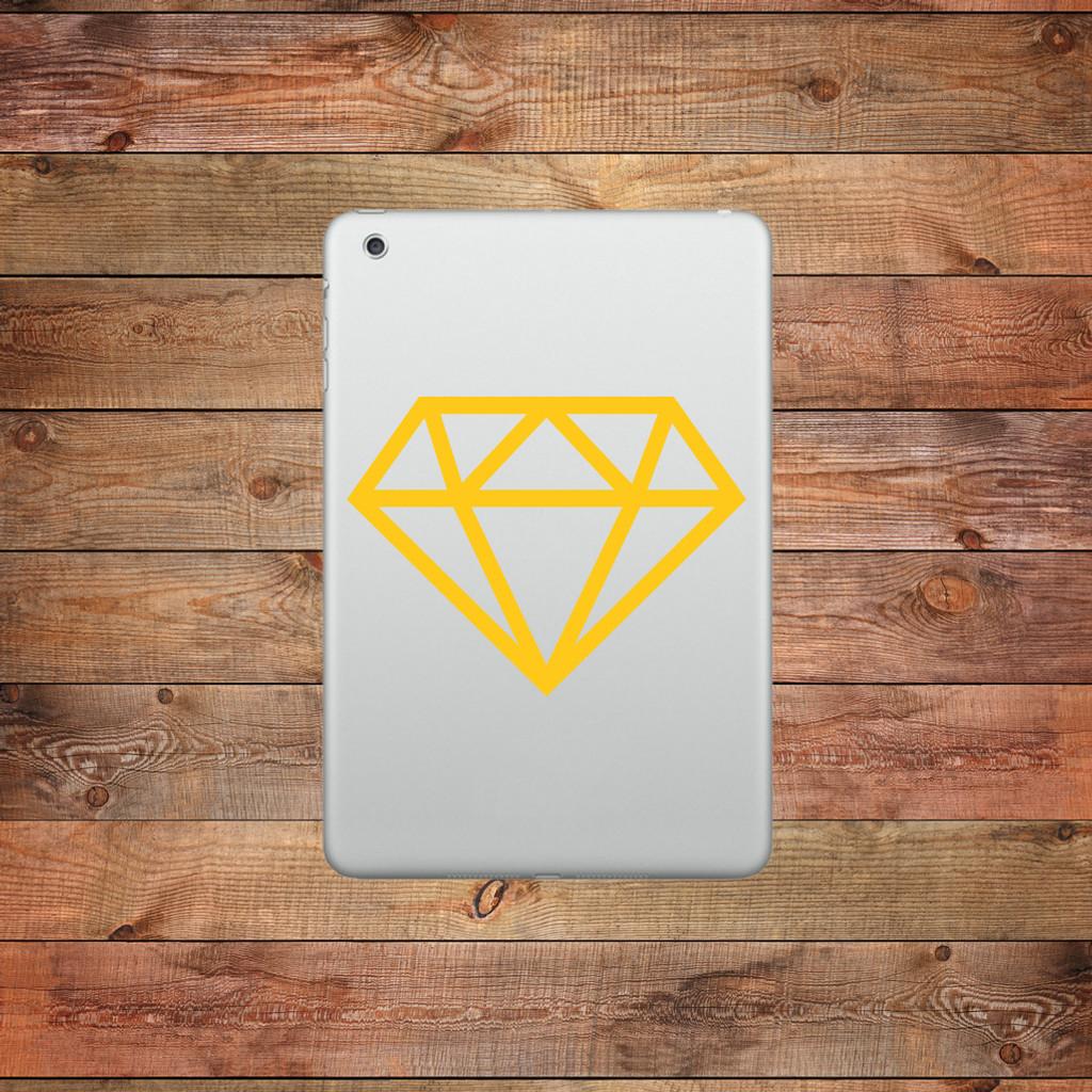 Diamond Device Decal Mug Sticker