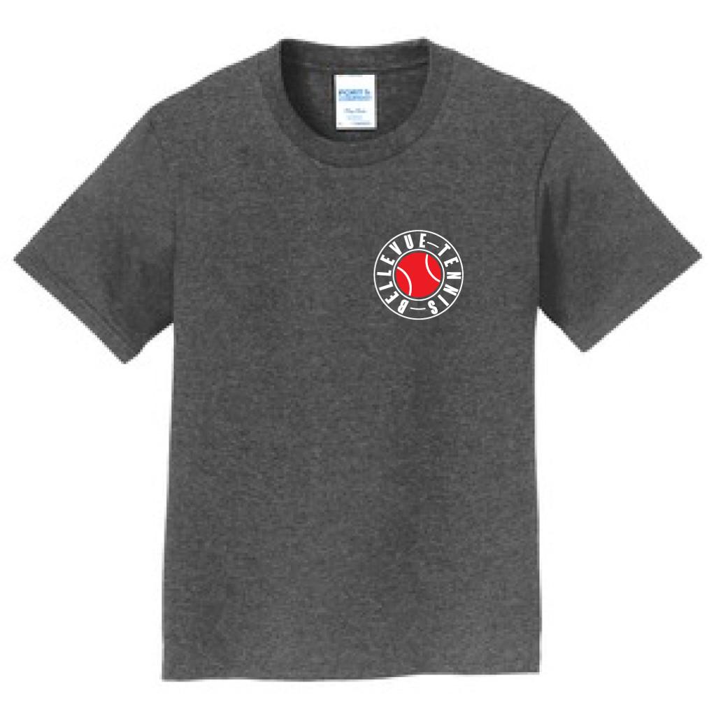 Bellevue High School Tennis YOUTH T-Shirt Front