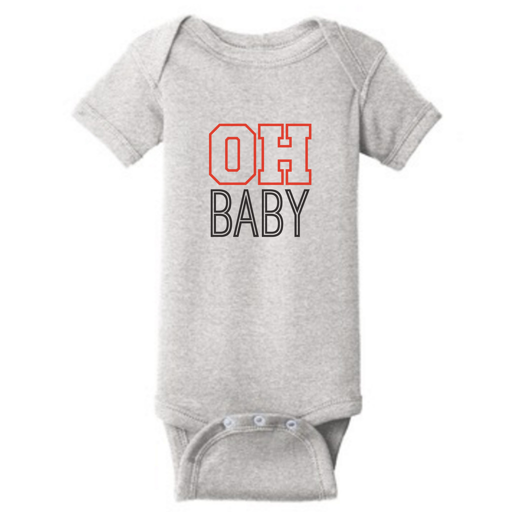 Heather OH BABY Ohio Infant Onesie T-Shirt