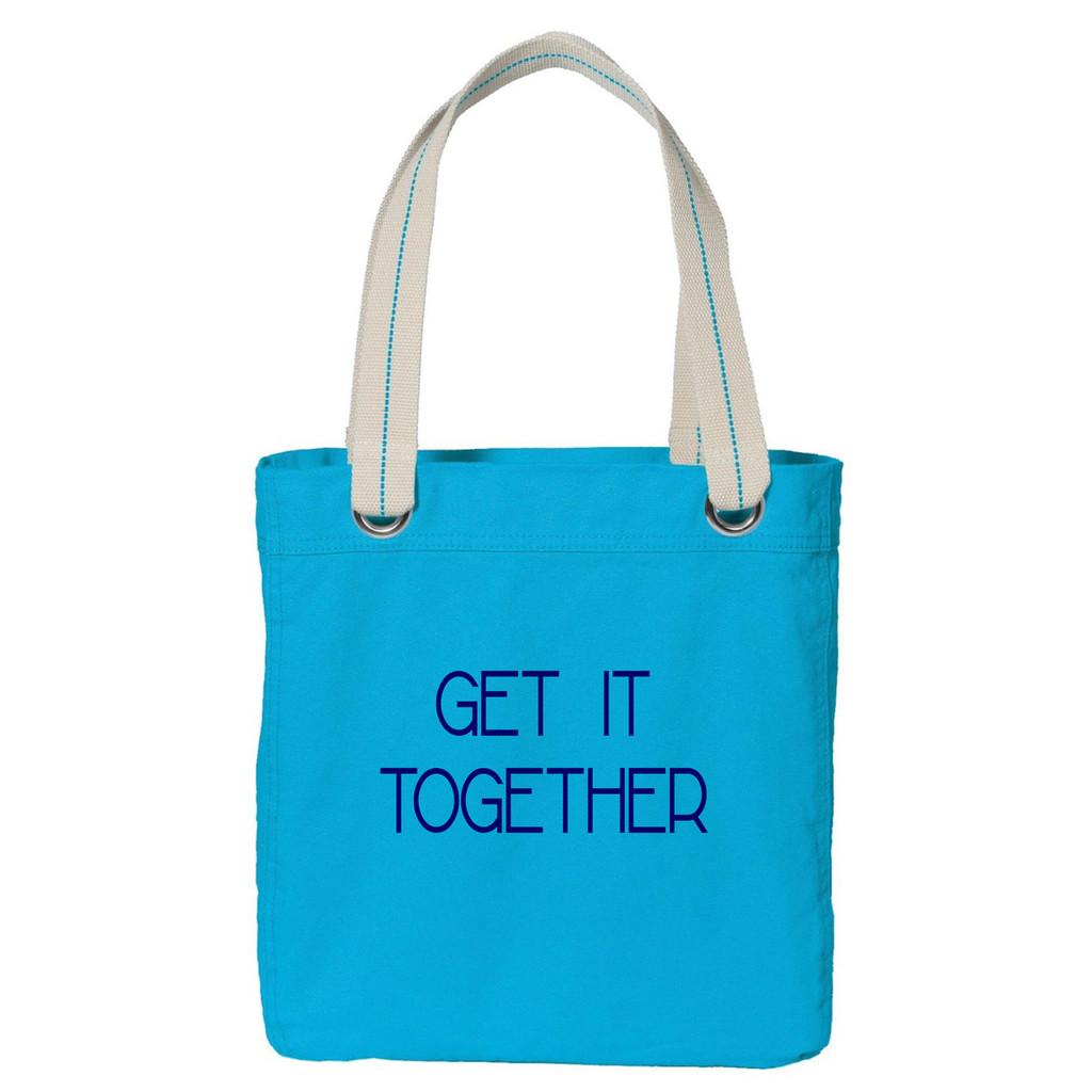 Get It Together Tote Bag Sample Image