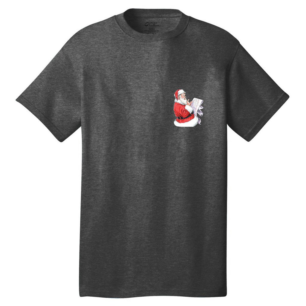 Custom Naughty List T-Shirt