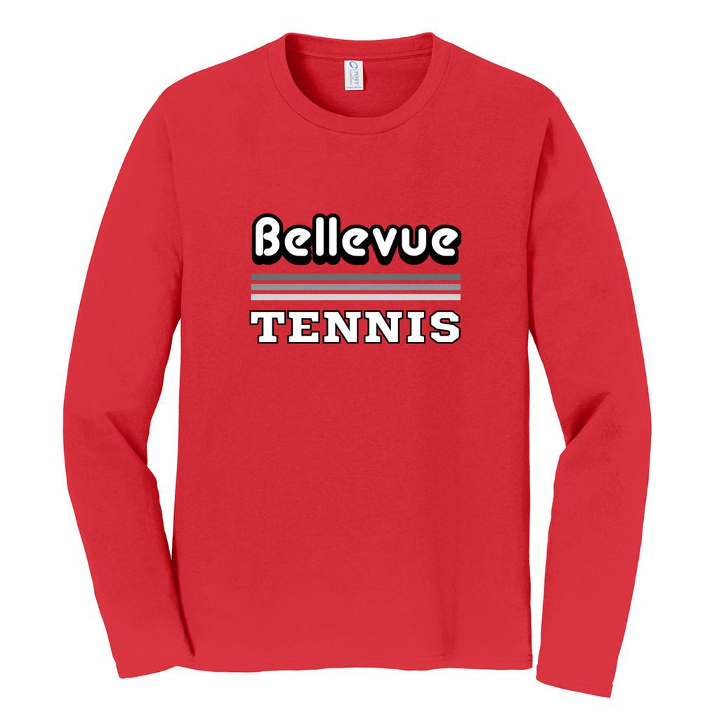 2018 Bellevue Tennis Basic Unisex Long Sleeve Shirt