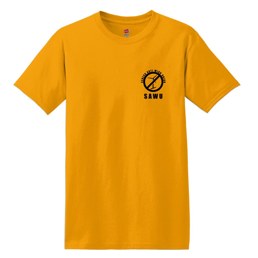 Seneca Anti Wind Union Basic Unisex T-Shirt Front