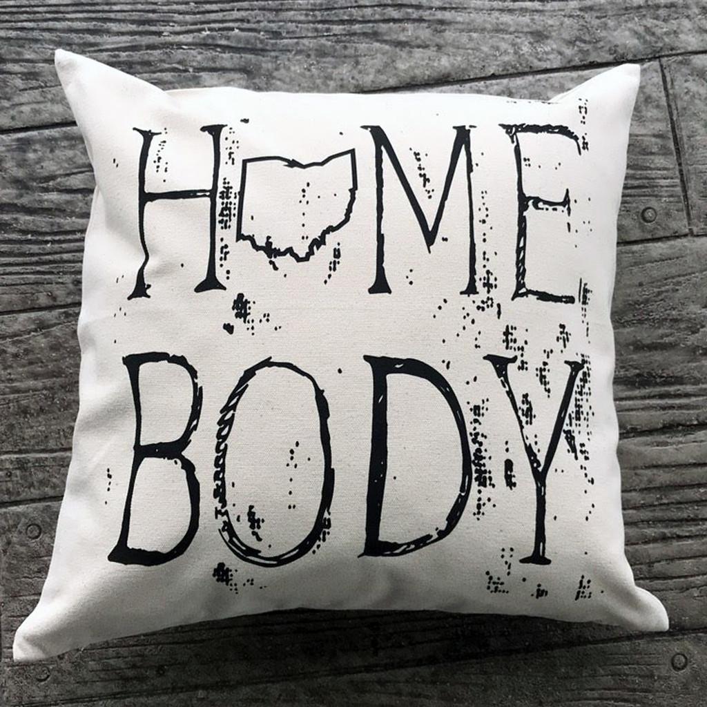 Ohio Homebody Pillow
