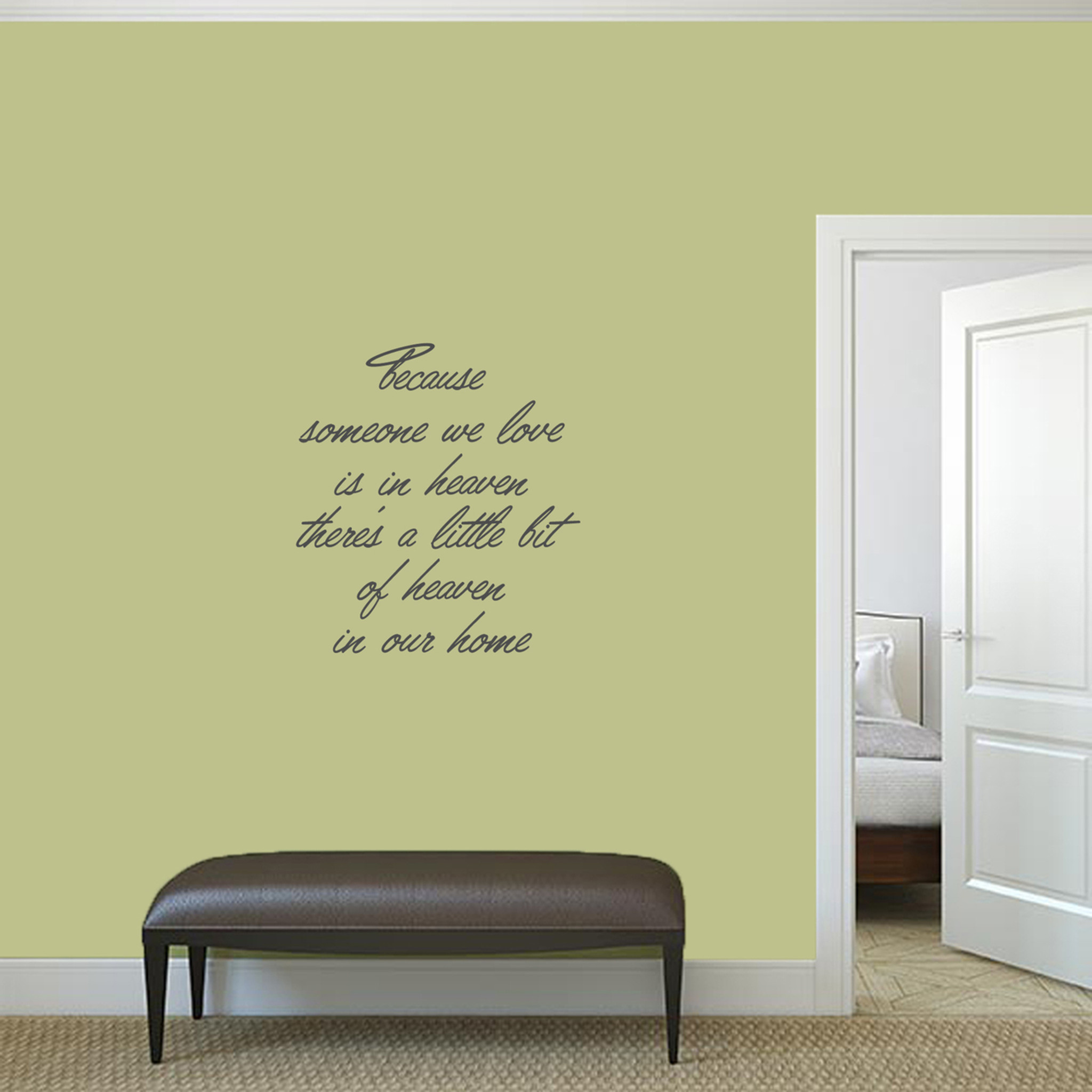 Heaven In Our Home Wall Decals Wall Decor Stickers