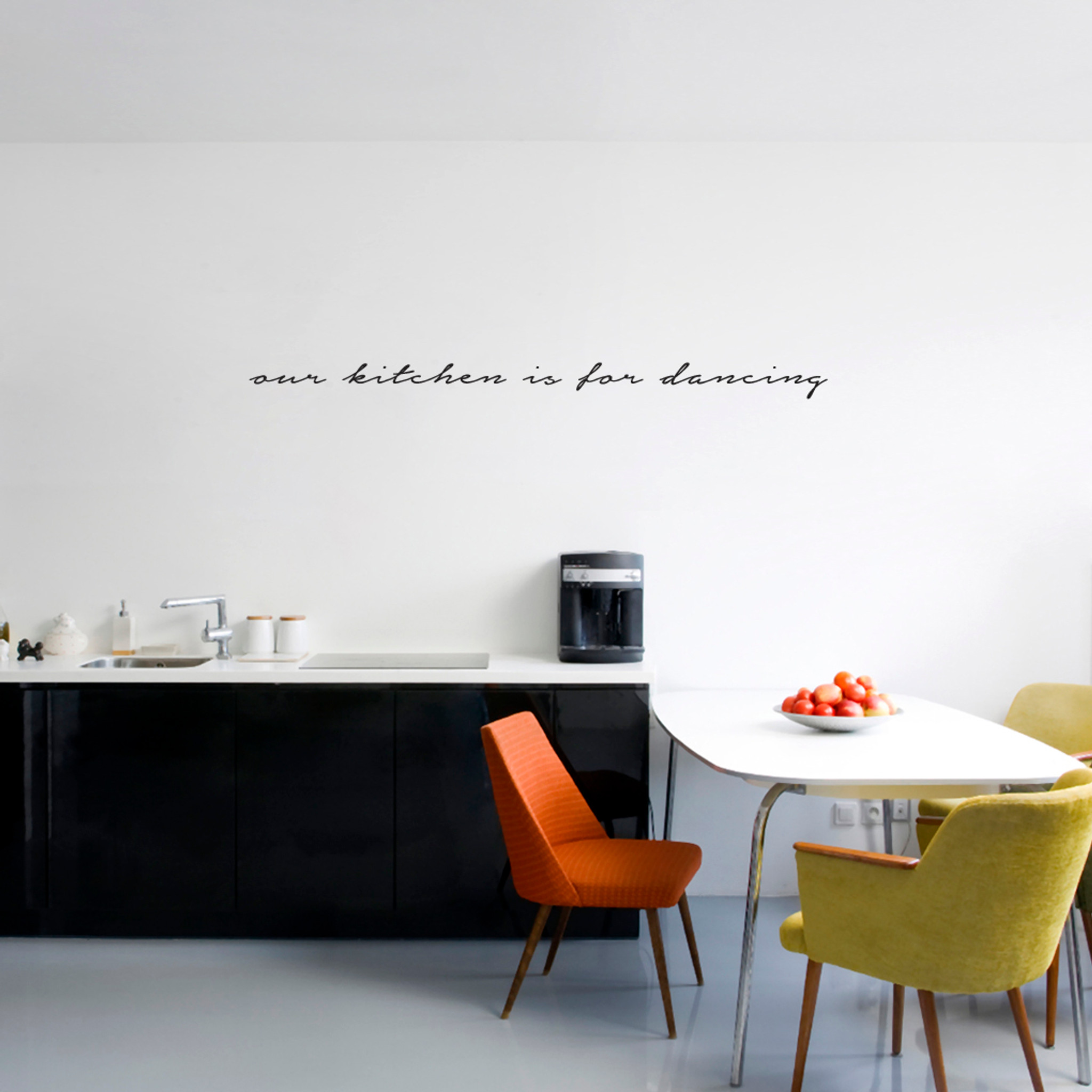Our Kitchen Is For Dancing Wall Decals Home Décor Wall Decals