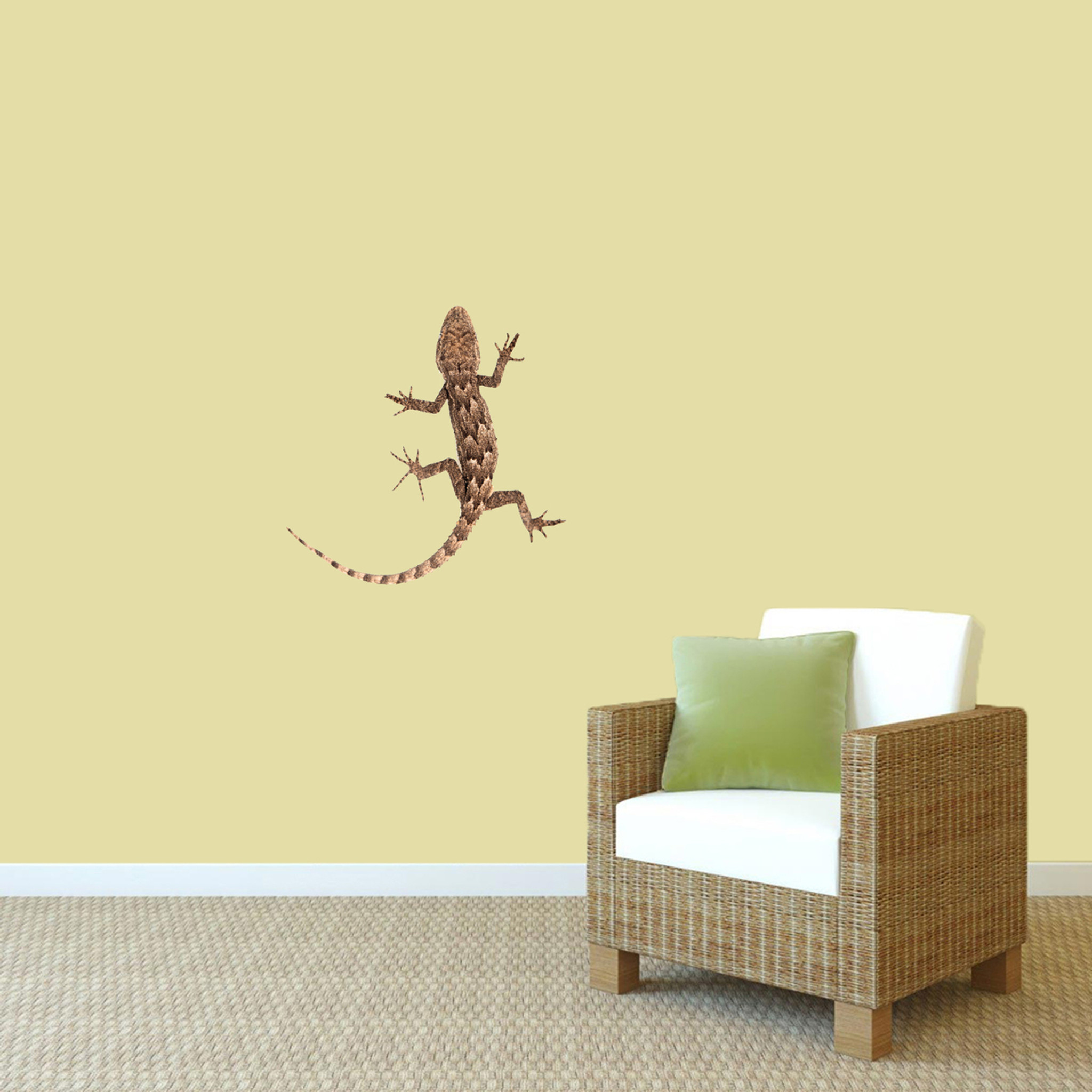 Real Life Lizard Printed Wall Decal Home Décor Wall Decals