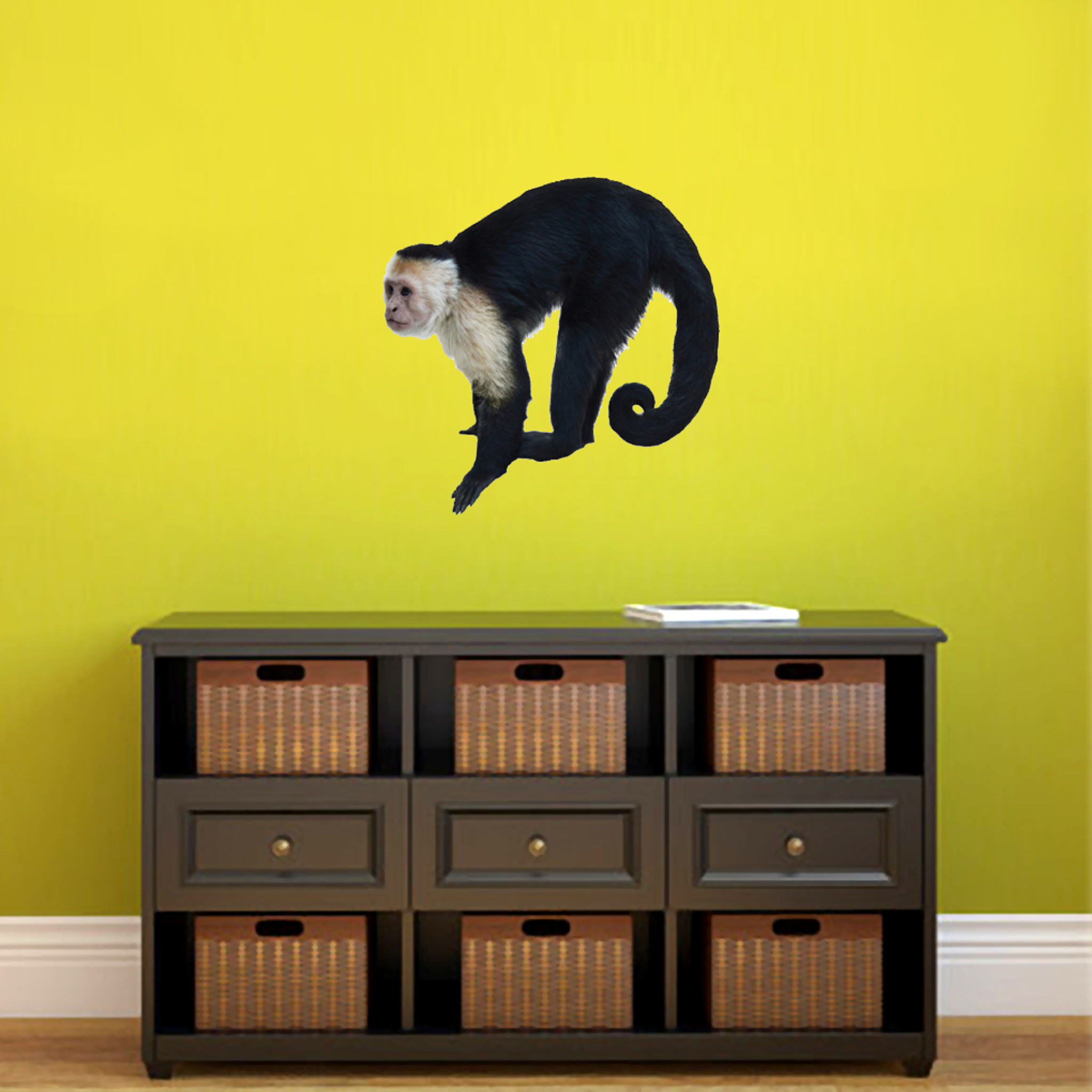 Real Life Monkey Printed Wall Decal Home Décor Wall Decals