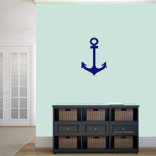 "Anchor Wall Decal 12"" wide x 18"" tall Sample Image"
