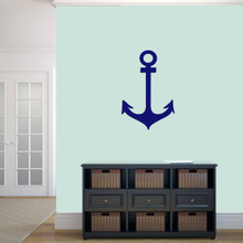 "Anchor Wall Decal 16"" wide x 24"" tall Sample Image"