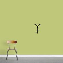"Bike Wall Decal 8"" wide x 12"" tall Sample Image"