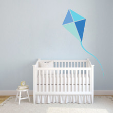 Blue Kite Printed Wall Decals and Wall Stickers