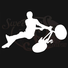 BMX Bicycle Motocross Vehicle Decals Stickers
