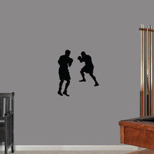 Boxers Wall Decals Small Sample Image