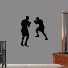 Boxers Wall Decals Medium Sample Image