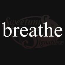 Breathe Vehicle Decals Stickers