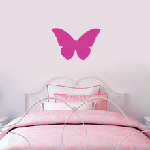 """Butterfly Silhouette Wall Decals 18"""" wide x 12"""" tall Sample Image"""