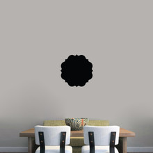 """Chalkboard Badge Wall Decals 12"""" wide x 12"""" tall Sample Image"""