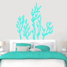 """Coral Reef Wall Decals Wall 60"""" wide x 60"""" tall Sample Image"""