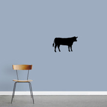 """Cow Wall Decals 24"""" wide x 15"""" tall Sample Image"""