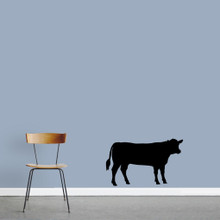 """Cow Wall Decals 36"""" wide x 22"""" tall Sample Image"""