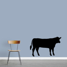 """Cow Wall Decals 48"""" wide x 30"""" tall Sample Image"""