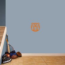 "Bulldog Mascot Wall Decals 12"" wide x 11"" tall Sample Image"
