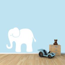 """Elephant Wall Decals 36"""" wide x 30"""" tall Sample Image"""