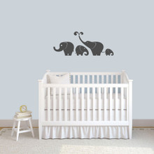 Elephant Set Wall Decals Small Sample Image