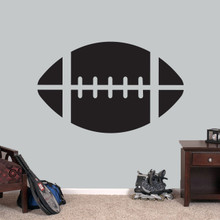 """Football Wall Decals 48"""" wide x 30"""" tall Sample Image"""