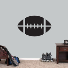 """Football Wall Decals 36"""" wide x 22"""" tall Sample Image"""