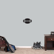 """Football Wall Decals 12"""" wide x 7"""" tall Sample Image"""