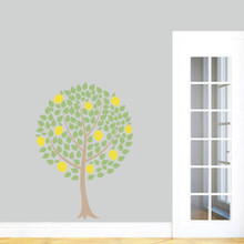 """Lemon Tree Printed Wall Decals 34"""" wide x 48"""" tall Sample Image"""