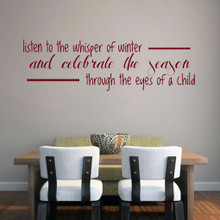 The Whisper of Winter Wall Decals and Wall Stickers