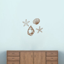 Seashells Wall Decal Set