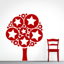 Stars & Dots Tree - Wall Decals and Stickers