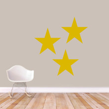 Set Of Stars Wall Decals Large Sample Image