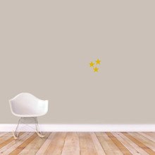Set Of Stars Wall Decals Extra Small Sample Image