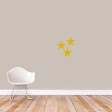 Set Of Stars Wall Decals Small Sample Image