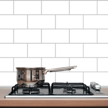 Subway Tile Wall Decal and Stickers
