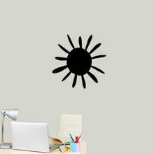 """Summer Sunshine Wall Decal 22"""" wide x 22"""" tall Sample Image"""